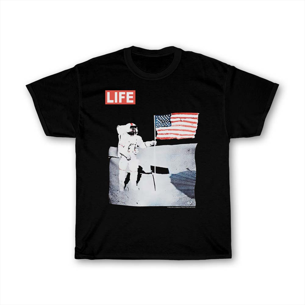 Exeshirt Life Magazine Man On The Moon T-Shirt 5574